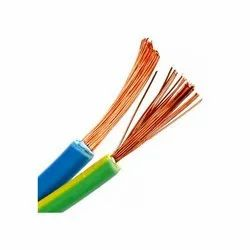PVC Soft Copper Wire Stranded Conductor Flexible Cable, For Electric