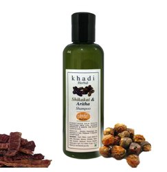 Khadi Herbal Shikakai Shampoo, Paraben & Sulfate Free - 200mL, Packaging Type: Bottle