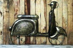 Antique Scooter Wall Decor