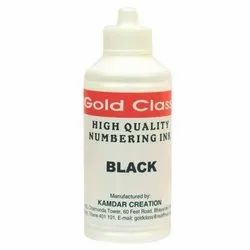 Gold Class 100 ml Black Numbering Ink