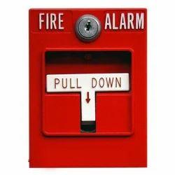 m s body manual pull down fire alarm