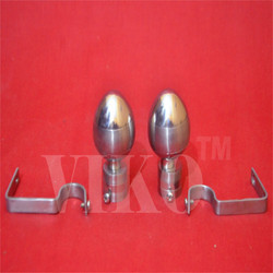 Stainless Steel Parda Brecket SET