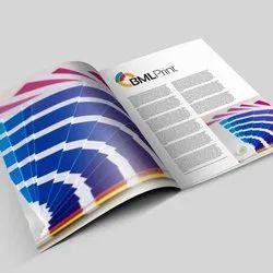 English Printed Magazine Printing Service, Location: Pan India