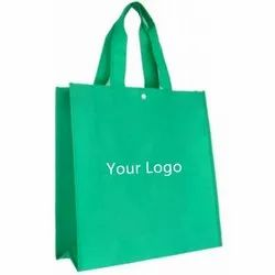 Green Non Woven Printed Bag