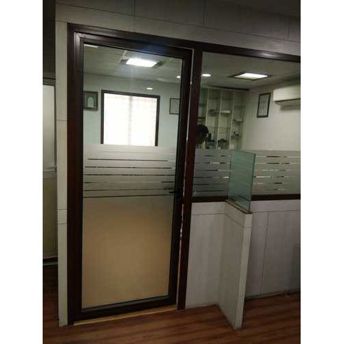 Upvc Frame Glass Door