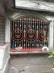 Iron Design Grill Window