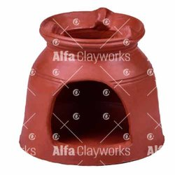 Alfa Clayworks Terracotta Clay Stove for Industrial Use