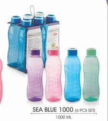 Plasto World Plastic Water Bottle, Capacity: 1 Litre, Size: 1000 Ml