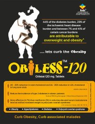Anti-Obesity Drug Orlistat 120 mg