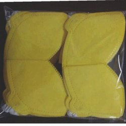 Girikandra Sales Disposable Dust Face Mask, Number Of Layers: 3, Size: Large