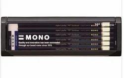 Tombow Mono Black Lead Pencil Set Of 12