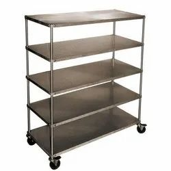 Paint Coated Modern Metal Storage Racks