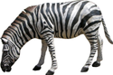Natursl Animal Fiberglass Zebra Statue, For Exterior Decor, Size/dimension: H 4 Ft X L 5 Ft
