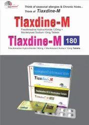 Fexofinadine 120mg   Montelukast 10mg