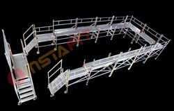 Bridge Way Mobile Aluminum Scaffolding