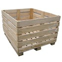 Square Heavy Duty Wooden Crate