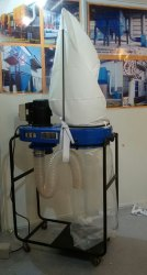 Portable Dust Collector (Imported) -1HP