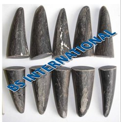 Round Horn Toggle Blanks for Garments, Packaging Type: Box