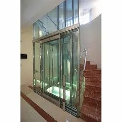 Glass Lift Door