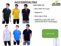 Alcis Essential Polo PC T Shirt, Age Group: 15 Plus