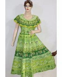 Designer Ladies Cotton Frock