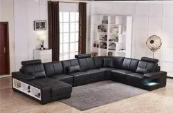 L Shaped Sofa Set With Launger