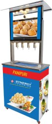 Automatic SS 304 Panipuri Filling Machine, 230V/110V