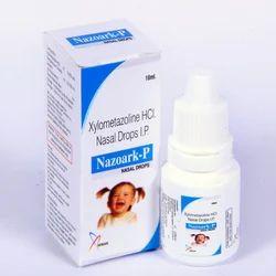 Nazoark Xylometazoline 0.05% Nasal Drops, Packaging Type: Pet Bottle, Packaging Size: 10ml