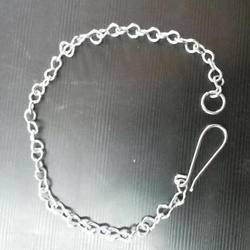 from 1m round steel chain short link galvanised 7mm