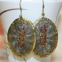 Oval Ladies Stylish Earrings