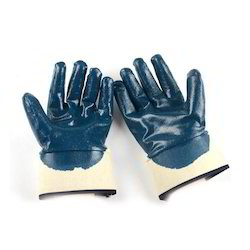 Nitirle Coated Cuff Hand Gloves