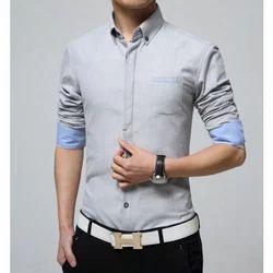 Plain Full Mens Formal Shirt