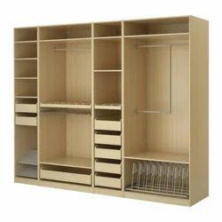 8 Drawer Wood Bedroom Cupboard, Length: 8 feet