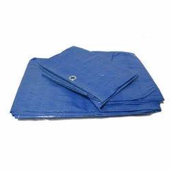 Blue Woven Nylon Tarpaulin, For Cover