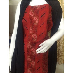 Hand Embroidered Cotton Suit Material