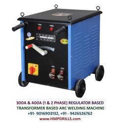 300 Amps Regulator Type Transformer Based Arc Welding Machine
