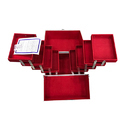 8 Tray Aluminium Vanity Case