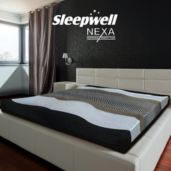 Multicolor Sleepwell Nexa Mattress