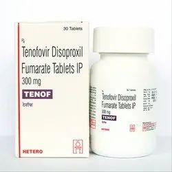 Tenof  300 Tenofovir disoproxil fumarate (300mg)