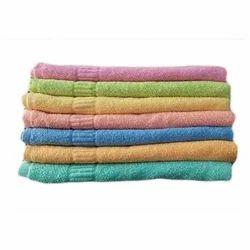 Cotton Plain Colored Hand Towel