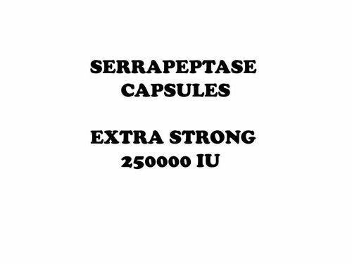 Serrapeptase Veg Capsules - View Specifications & Details of