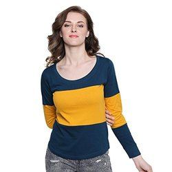 Aesthetic Apparels Round Ladies Full Sleeve T-Shirt