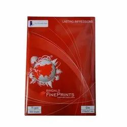 White Bindal A4 Copier Paper , For Office, GSM: Less than 80