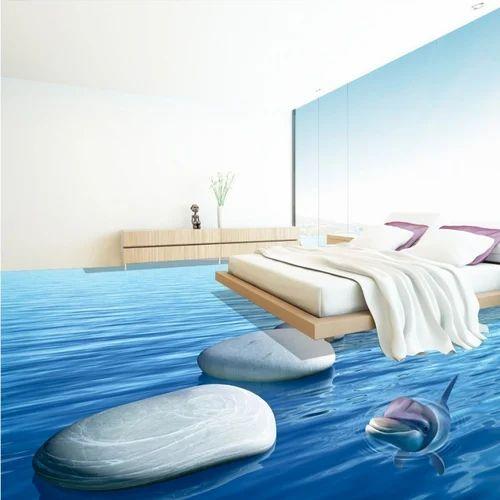 Epoxy 3d Flooring At Rs 320 Square Feet 3d Epoxy Flooring 3d