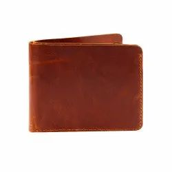 Bi-Fold Handmade Minimalist Genuine Leather Wallet For Man