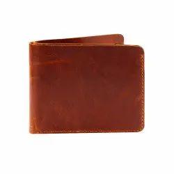 Bi-Fold Handmade Minimalist Genuine Leather Wallet For Man