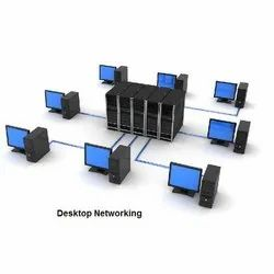Server to Client Desktop Networking Solution Service, in Client Side