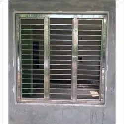 Silver Stainless Steel Window