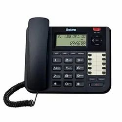 Black Uniden AT 8501 Two Line Corded Telephones