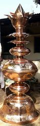 Gopura Kalasam 10 Feet Height In Copper